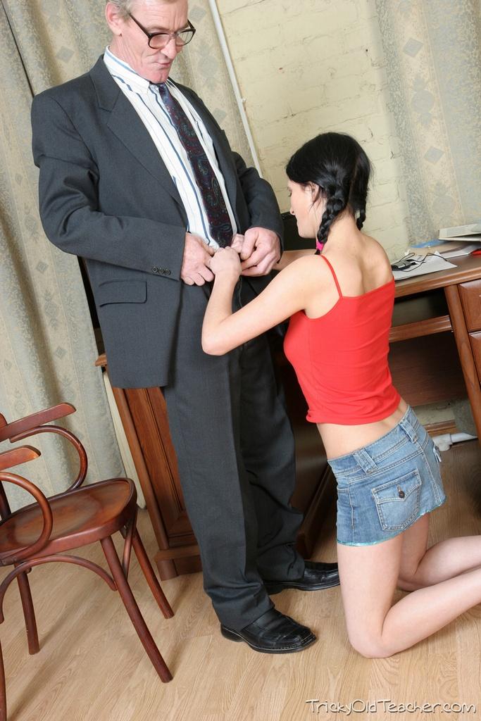 Regarder la baise avec le professeur